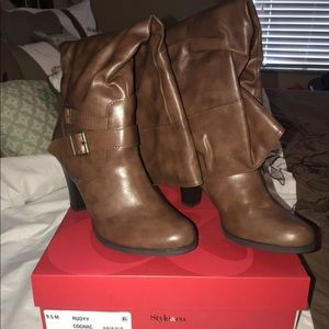 Style & Co Shoes - Style & Co Ruddy Cognac/Brown Boots